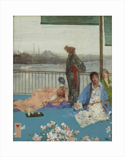 Variations in Flesh Colour and Green, The Balcony, c.1870-79 by James Abbott McNeill Whistler