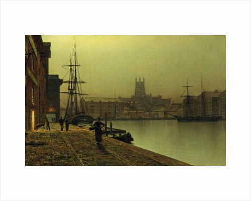 Gloucester Docks, 1880-90 by John Atkinson Grimshaw