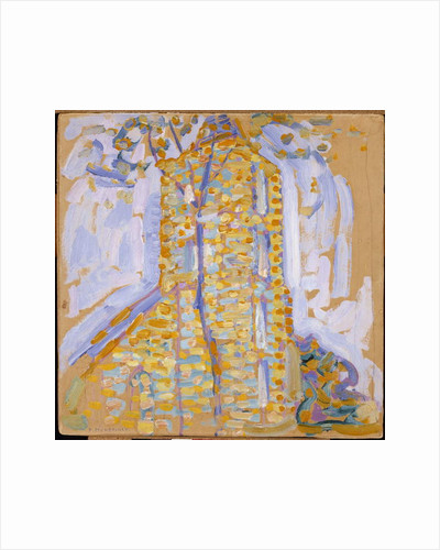 Church at Domburg with Tree, 1909 by Piet Mondrian