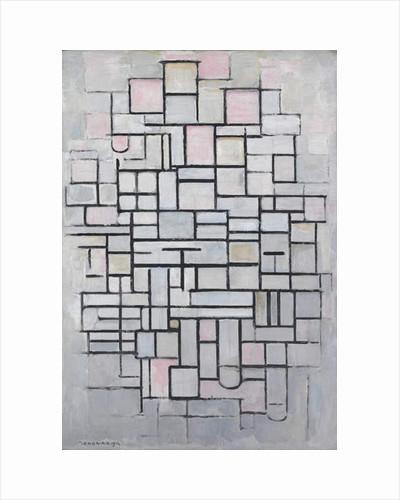 Composition No. IV, 1914 by Piet Mondrian
