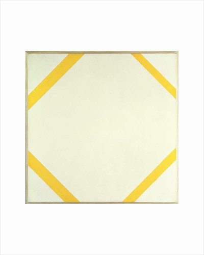 Lozenge Composition with Four Yellow Lines, 1933 by Piet Mondrian