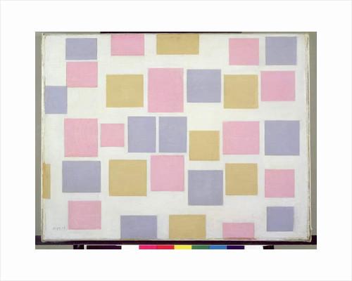 Compositie No.3, with Colour Planes 3, 1917 by Piet Mondrian