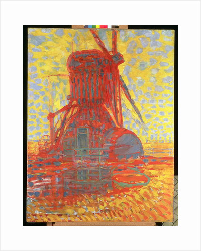 Mill in Sunlight: The Winkel Mill, 1908 by Piet Mondrian