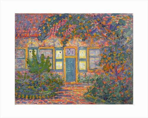Little House in Sunlight, c.1910 by Piet Mondrian