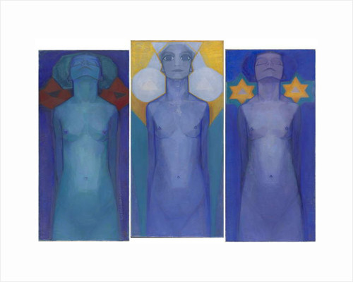 Evolution, c.1911 by Piet Mondrian