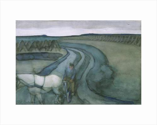 At Work: in the Fields, c.1899 by Piet Mondrian