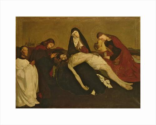 Copy after the Pieta de Villeneuve-Les-Avignon, 1913-14 by Piet Mondrian