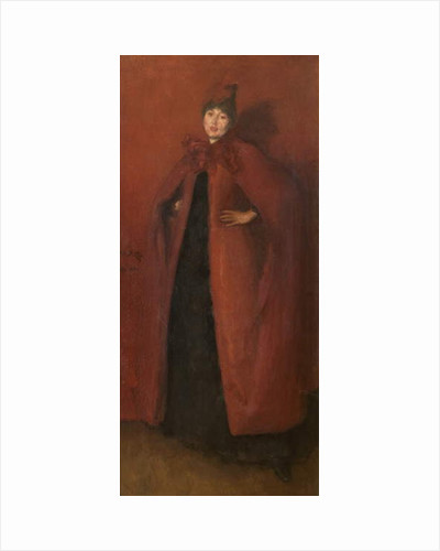Harmony in Red: Lamplight, 1884-86 by James Abbott McNeill Whistler