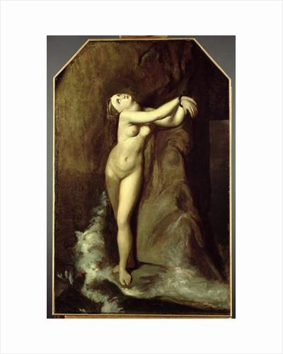 Ingres' 'Roger Deliverant Angelique', 1857 by James Abbott McNeill Whistler