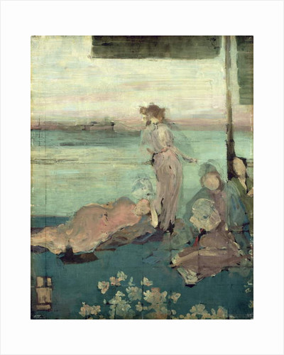 Sketch for 'The Balcony' by James Abbott McNeill Whistler