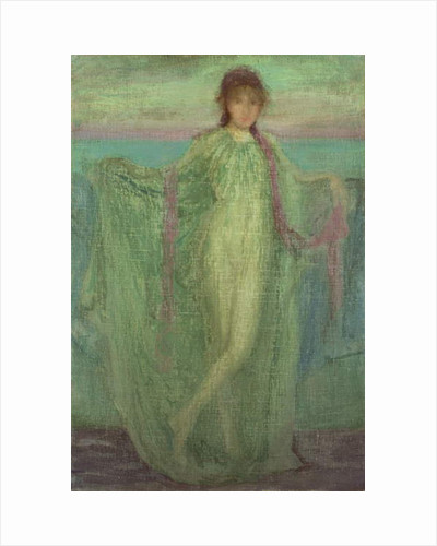 Annabel Lee by James Abbott McNeill Whistler