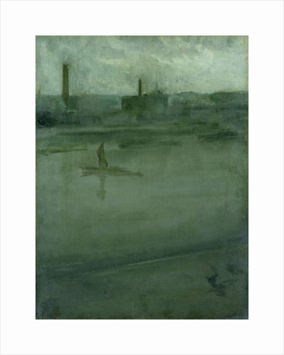 Grey and Silver: The Thames by James Abbott McNeill Whistler