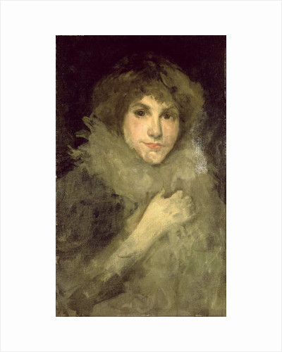 Grey and Silver: La Petite Souris by James Abbott McNeill Whistler