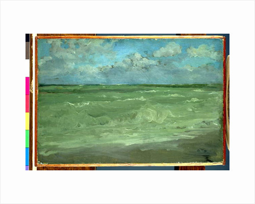 Green and Silver: The Great Sea by James Abbott McNeill Whistler