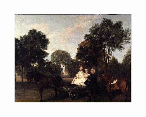 The Rev. Robert Carter Thelwall and Family, 1776 by George Stubbs