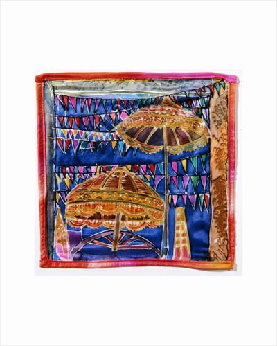 Balinese parasols by Hilary Simon
