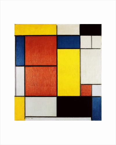 Composition II by Piet Mondrian