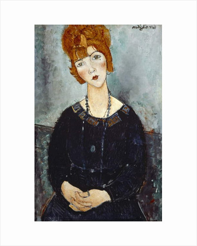 Woman with a Necklace, 1910 by Amedeo Modigliani