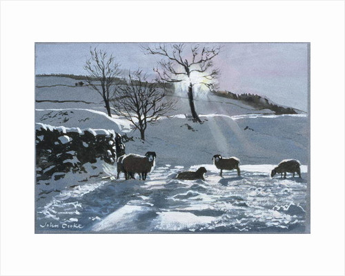 Winter Afternoon at Dentdale by John Cooke