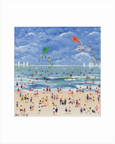 A Cornish Beach by Judy Joel
