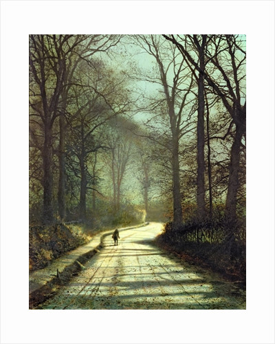 Moonlight Walk by John Atkinson Grimshaw