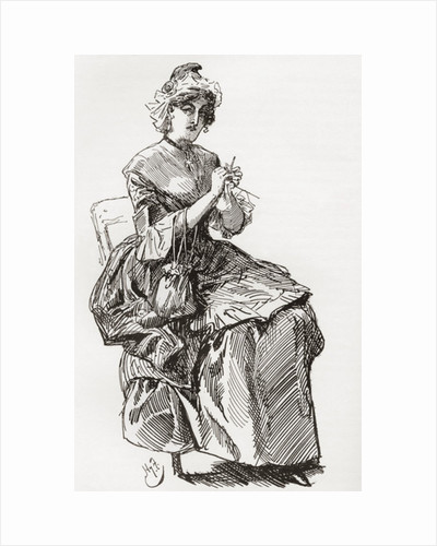 Madame Defarge by Anonymous