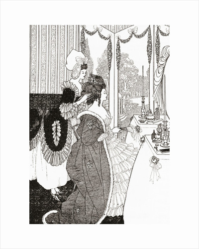 The Toilet by Aubrey Beardsley (after)