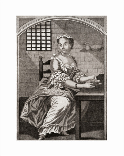 Marie Catherine Taperet by Anonymous