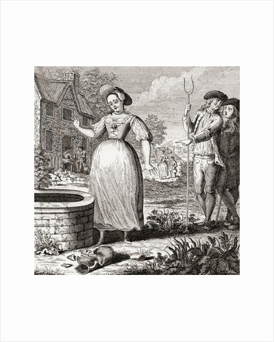 Love's Bitter Potion or Dolly Pregnant, symbolism of lost virginity by Anonymous