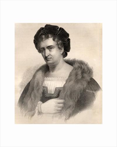 Portrait of Francois Joseph Talma by French School