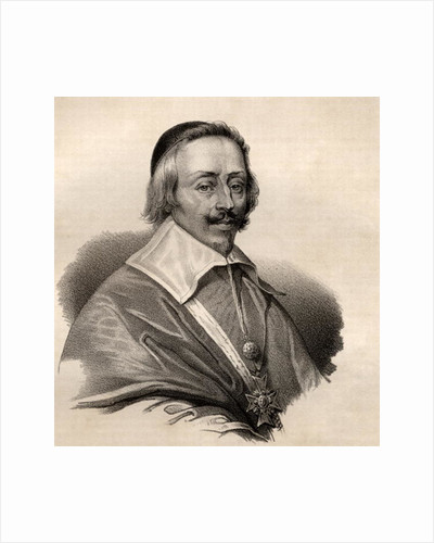 Portrait of Armand Jean du Plessis, Cardinal and Duke of Richelieu by French School