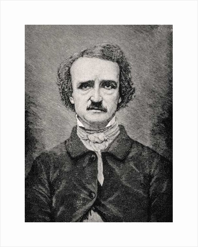 Edgar Allan Poe by Mathew Brady