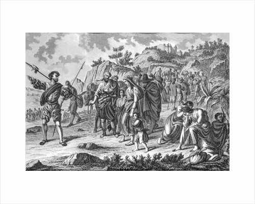 Expulsion of the Moorish from Spain by Spanish School