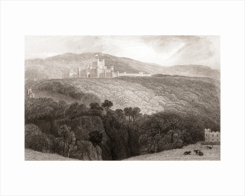 19th century view of Lowther Castle by Anonymous