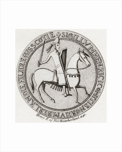 Seal of Henry of Scotland. Prince of Scotland by Anonymous