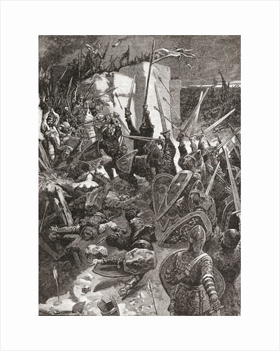 The Siege of Waterford, Ireland, during the Cromwellian conquest of Ireland by Anonymous