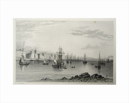 Waterford, Ireland, engraved by W. Taylor by William Henry Bartlett