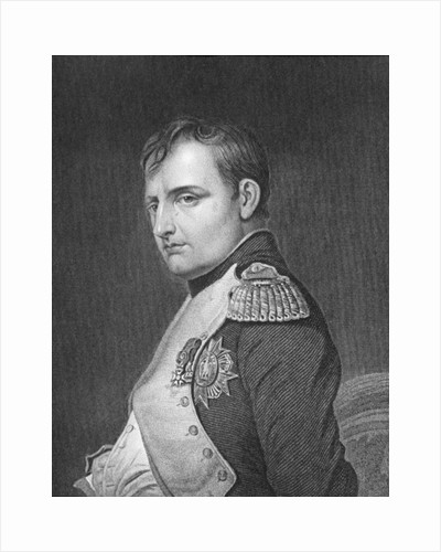 Portrait of Napoleon Bonaparte by English School