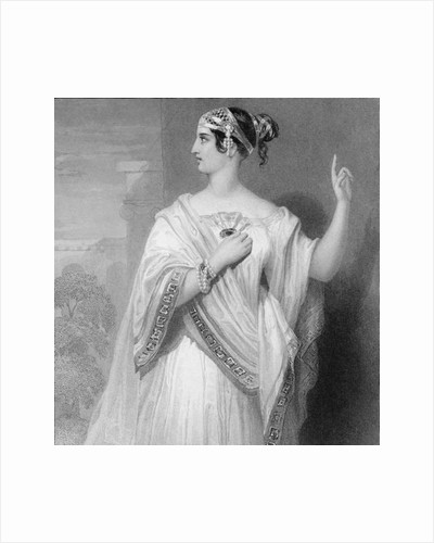 A Roman Noble Woman by English School