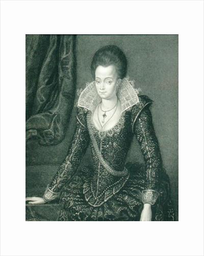 Portrait of Lady Arabella Stuart by English School