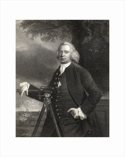 James Brindley from 'Gallery of Portraits' by English School
