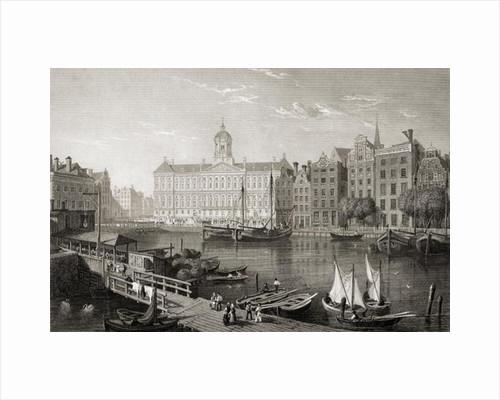 The Damrak Palace, Amsterdam by Lieutenant-Colonel Batty