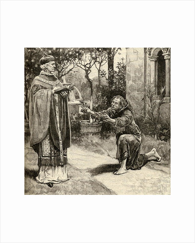 Pope Innocent III and St. Francis of Assisi by English School