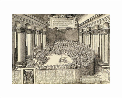 The Council of Trent by Italian School