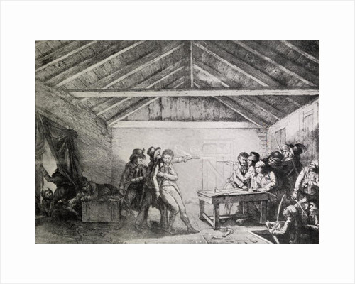 The Arrest of the Cato Street Conspirators on 23rd February by English School