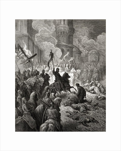 Entry of the Crusaders in Constantinople in 1204 by Gustave Dore