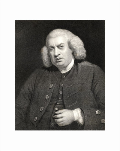 Portrait of Dr. Samuel Johnson by Sir Joshua Reynolds