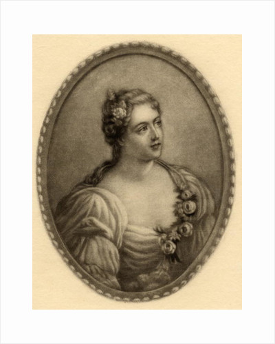 Madame de Parabere by French School