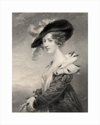 Georgiana (Howard), Lady Dover by John Jackson