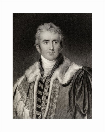 William Pitt Amherst Earl of Arracan by English School